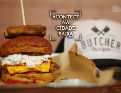 Butcher Burger: Pra comer com as mãos e matar a fome